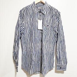 ZARA Man Slim Fit Casual Button-Down Shirt